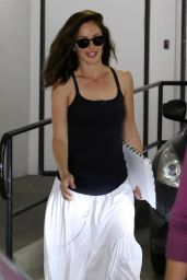 Minka Kelly Street Style - Out in L.A. - August 2014