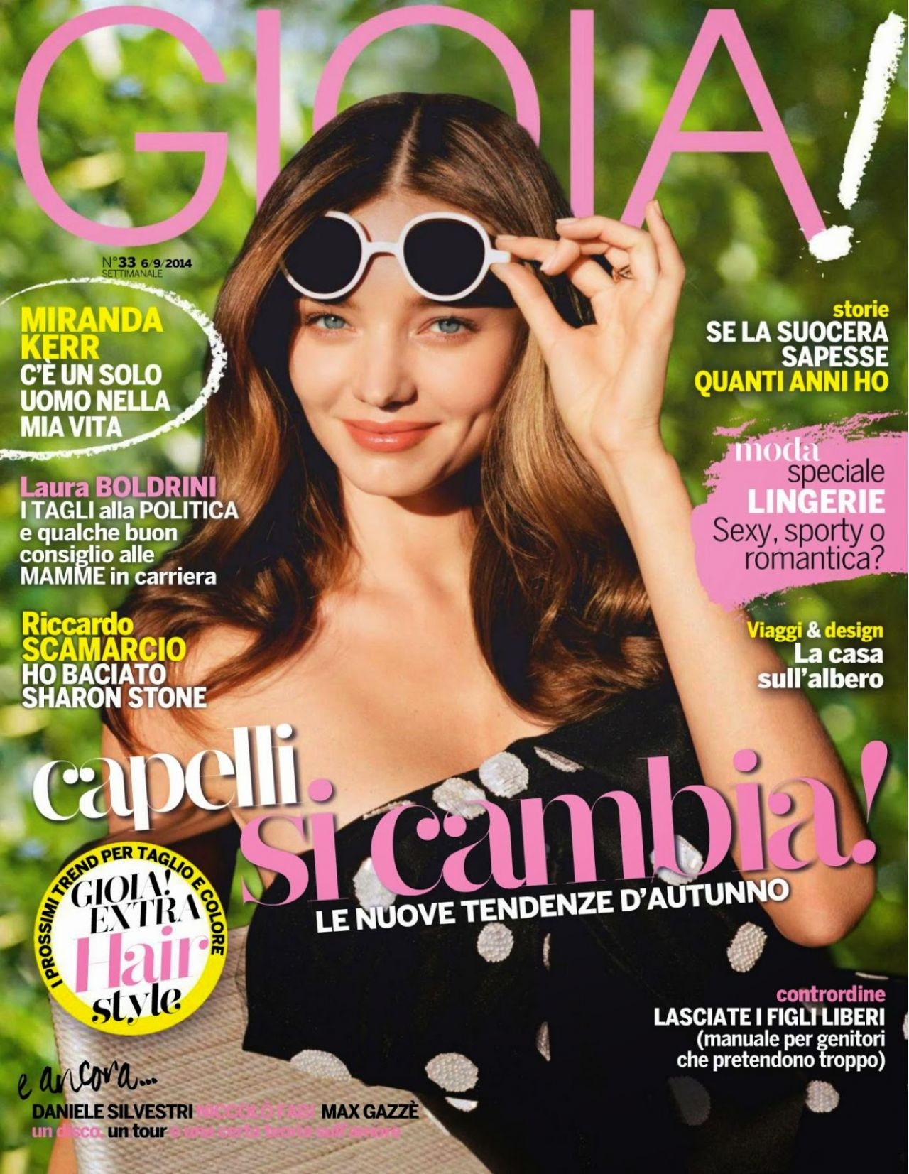 Miranda Kerr - Gioia! Magazine September 2014 Issue