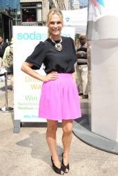 Molly Sims at SodaStream #RethinkYourDrink Event in New York City