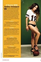 Nadine Velazquez - All In Magazine - August 2014 Issue