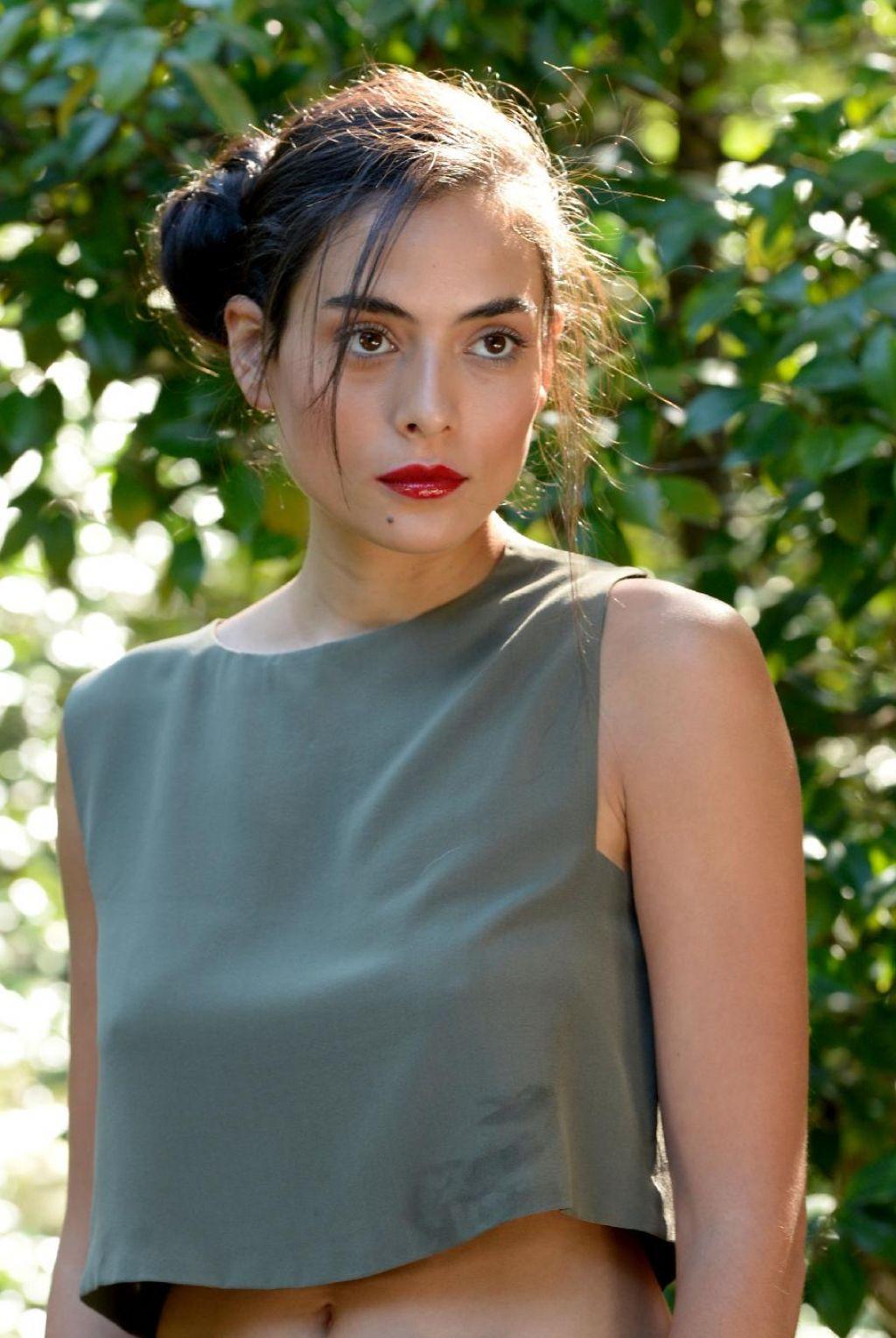 Daleela Echahly Street Fashion: 'Geronimo' Movie Photocall At Locarno
