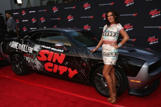 Natalie Burn – 'Sin City A Dame To Kill For' Premiere in Los Angeles