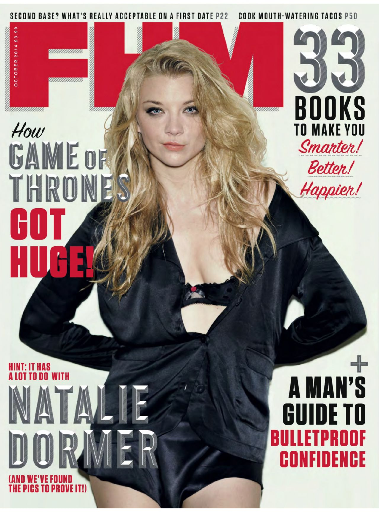 Natalie Dormer - FHM Magazine (UK) - October 2014 Issue