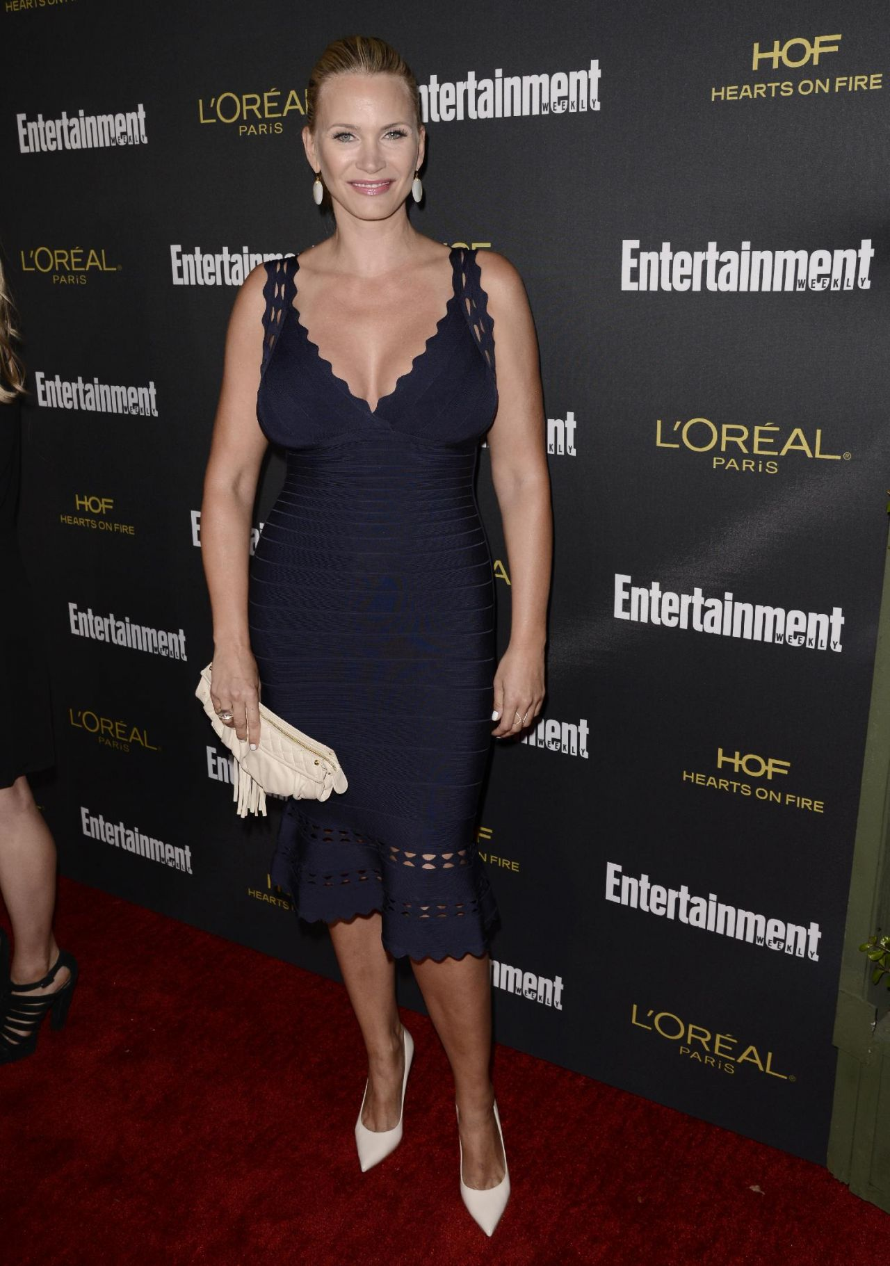 Natasha Henstridge – Entertainment Weekly's Pre-Emmy 2014 Party in West Hollywood