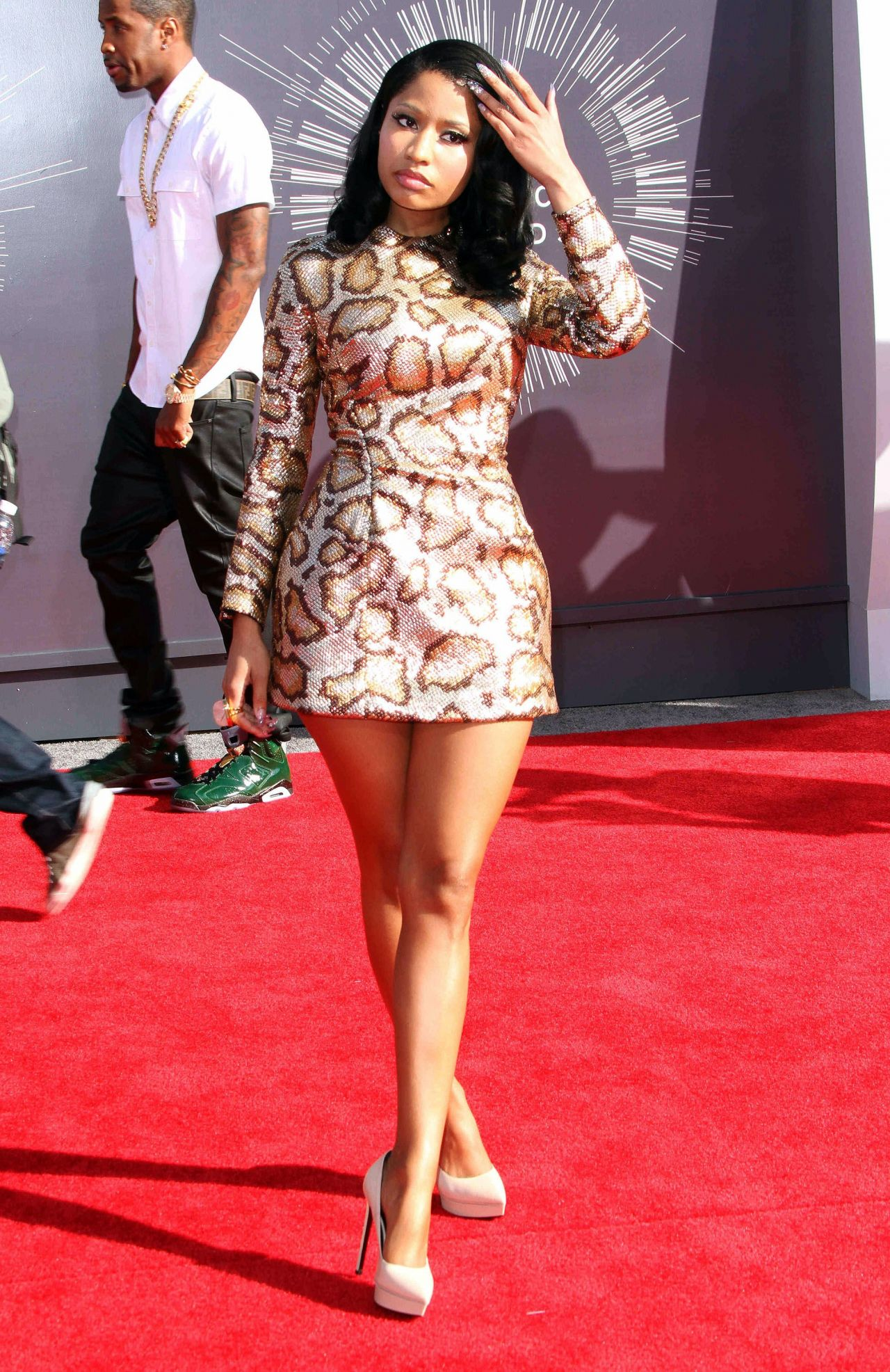 Nicki Minaj 2014 Mtv Video Music Awards In Inglewood