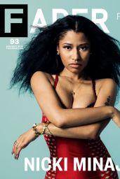 Nicki Minaj - Fader Magazine August/September 2014
