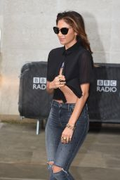 Nicole Scherzinger Doses a Fan With Iced Water for Charity - London, August 2014