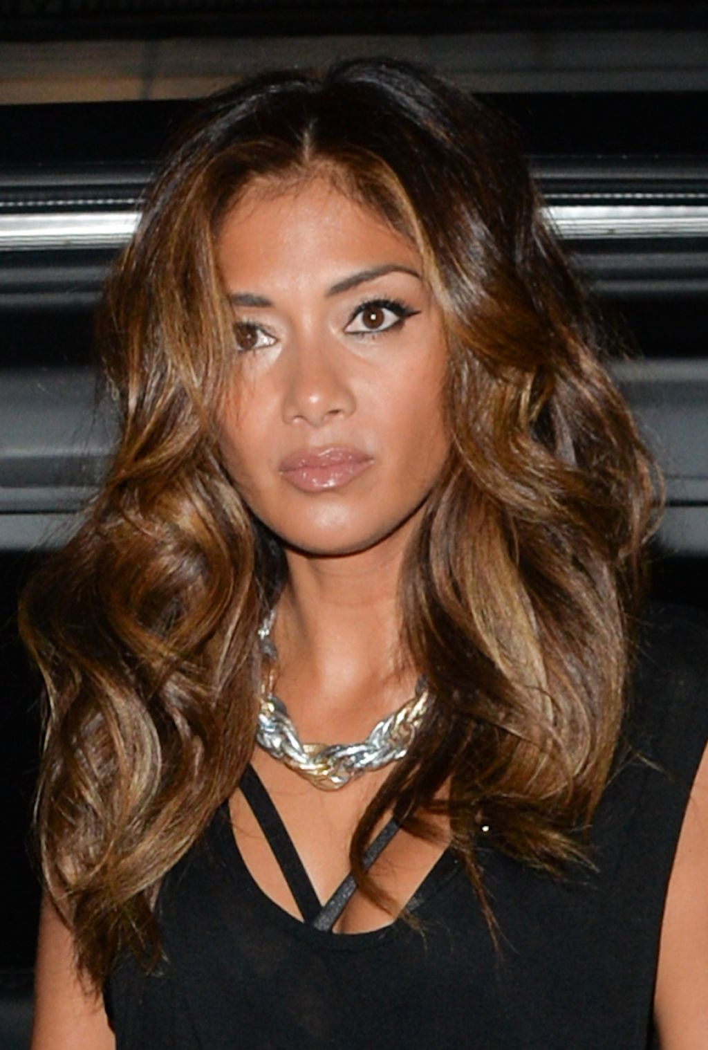 Nicole Scherzinger Night Out Style - Leaving Nobu Restaurant London, August 2014