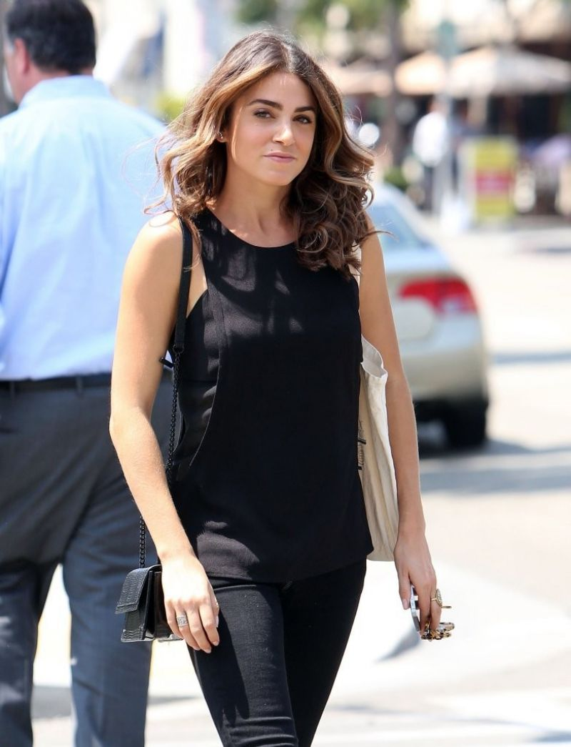 Nikki Reed Out In Los Angeles August 2014