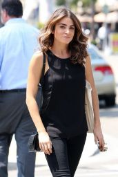 Nikki Reed - Out in Los Angeles - August 2014