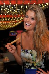 Nina Agdal at Andrea
