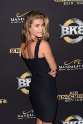 Nina Agdal - Big Knockout Boxing Inaugural Event in Vegas - August 2014