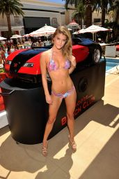 Nina Agdal Bikini Photos - Luli Fama Model Search Finals in Las Vegas, August 2014
