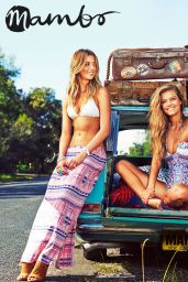 Nina Agdal - Photoshoot For Mambo Swimwear - Summer 2014