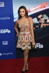Nina Dobrev – 'Let's Be Cops' Premiere in Los Angeles