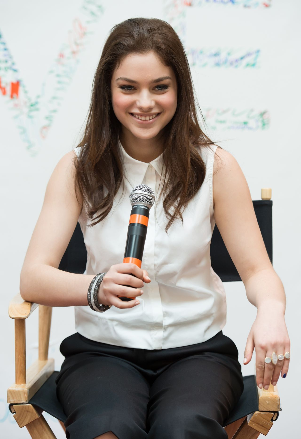 Odeya Rush The Giver Fan Event In Cherry Hill New Jersey