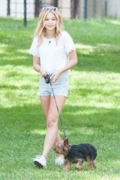 Olivia Holt at a Park in Los Angeles - August 2014