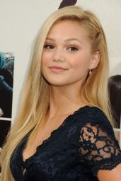 Olivia Holt – 'If I Stay' Premiere in Los Angeles