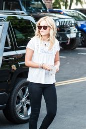 Olivia Holt - Out in Los Angeles, July 2014