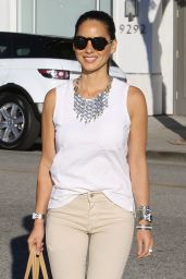 Olivia Munn Casual Style- Out in Beverly Hills - August 2014