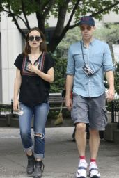 Olivia Wilde and Jason Sudeikis - Out in Montreal - August 2014