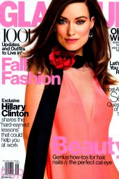 Olivia Wilde - Glamour Magazine September 2014 Issue