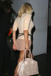 Pamela Anderson Night Out Style - Leaving Chateau Marmont in Los Angeles - Aug. 2014