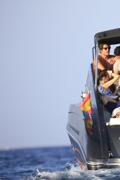 Paris Hilton on Vacation With Her Boyfriend in Ibiza - August 2014