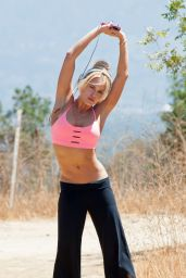 Peta Murgatroyd - Working Out for the Paps - Los Angeles, August 2014