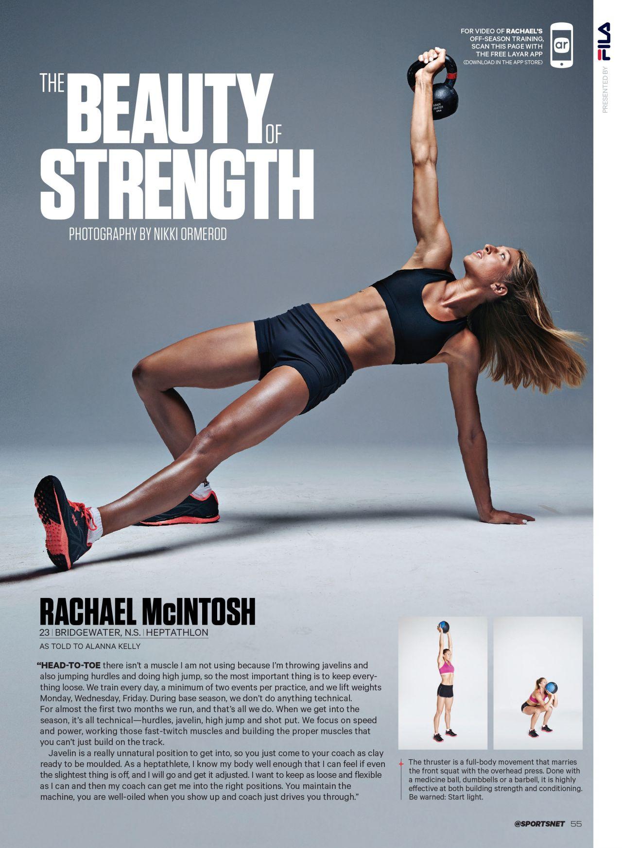 Rachael McIntosh - Sportsnet Magazine (Canada) - August 18, 2014