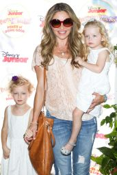 Rebecca Gayheart – 'Pirate and Princess: Power of Doing Good' Tour in Pasadena – August 2014
