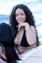 Rihanna in a Bikini - Sicily, Italy - August 2014