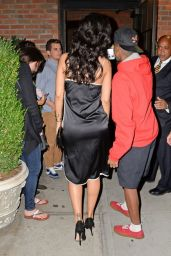 Rihanna – Leaves Birthday Party at the Bowery Hotel in New York City - Aug. 2014