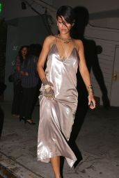 Rihanna Night Out Style - Leaving Giorgio Baldi Restaurant in Santa Monica - Aug. 2014