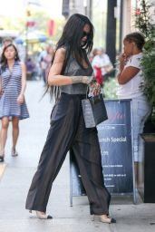 Rihanna Style - at Philippe Chow Restaurant in New York City, August 2014