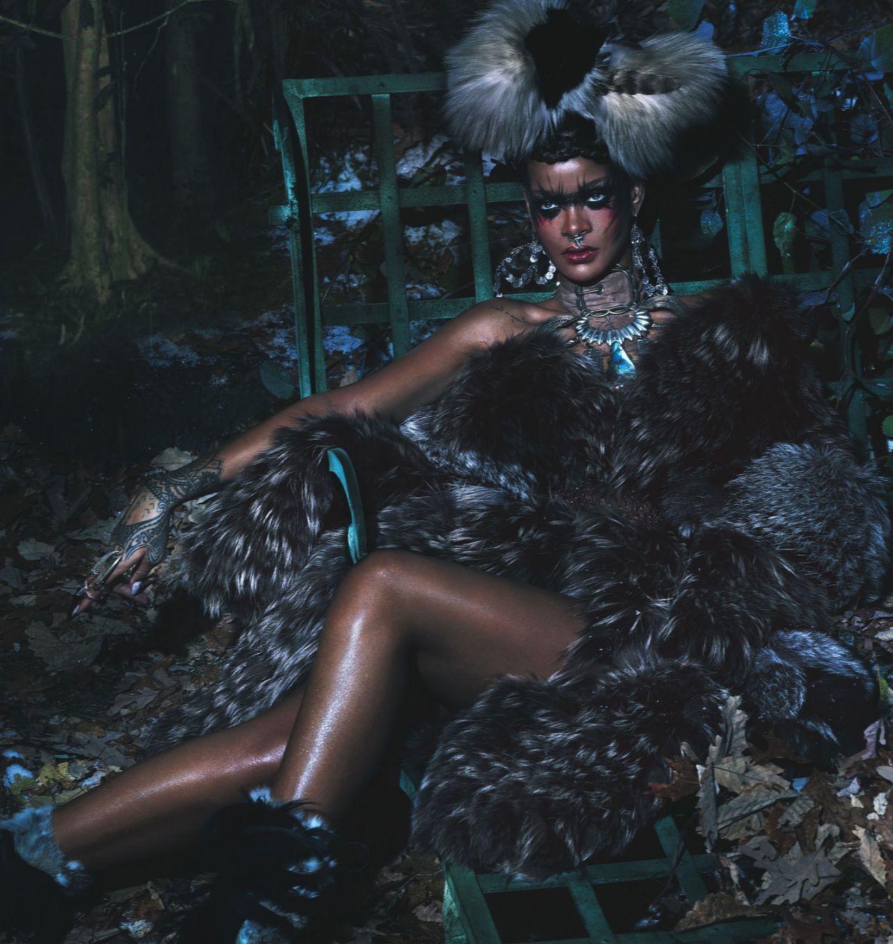 Rihanna W Magazine Spetember 2014 Issue