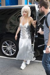 Rita Ora - Out in New York Cityl, August 2014