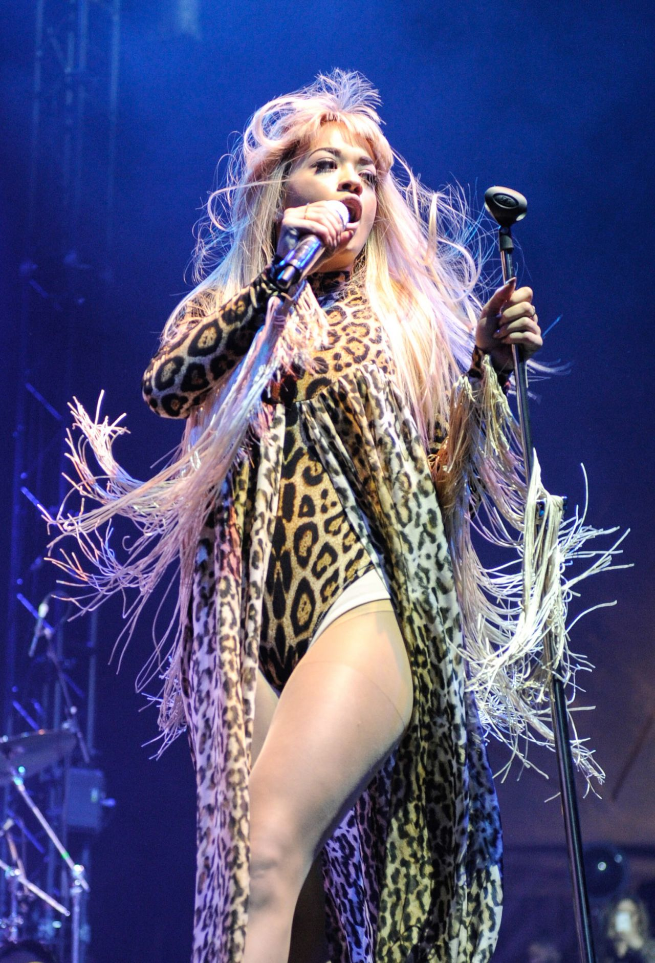Rita Ora Performs at V Festival at Weston Park - August 2014