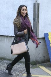 Rochelle Humes - ITV Studios in London - August 2014