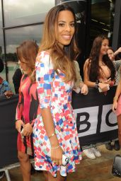 Rochelle Humes – The Saturdays BBC Media City Hotel in Manchester