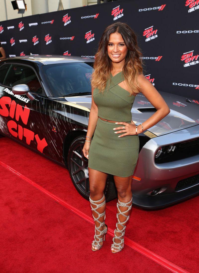 Rocsi Diaz Sin City A Dame To Kill For Premiere In Los