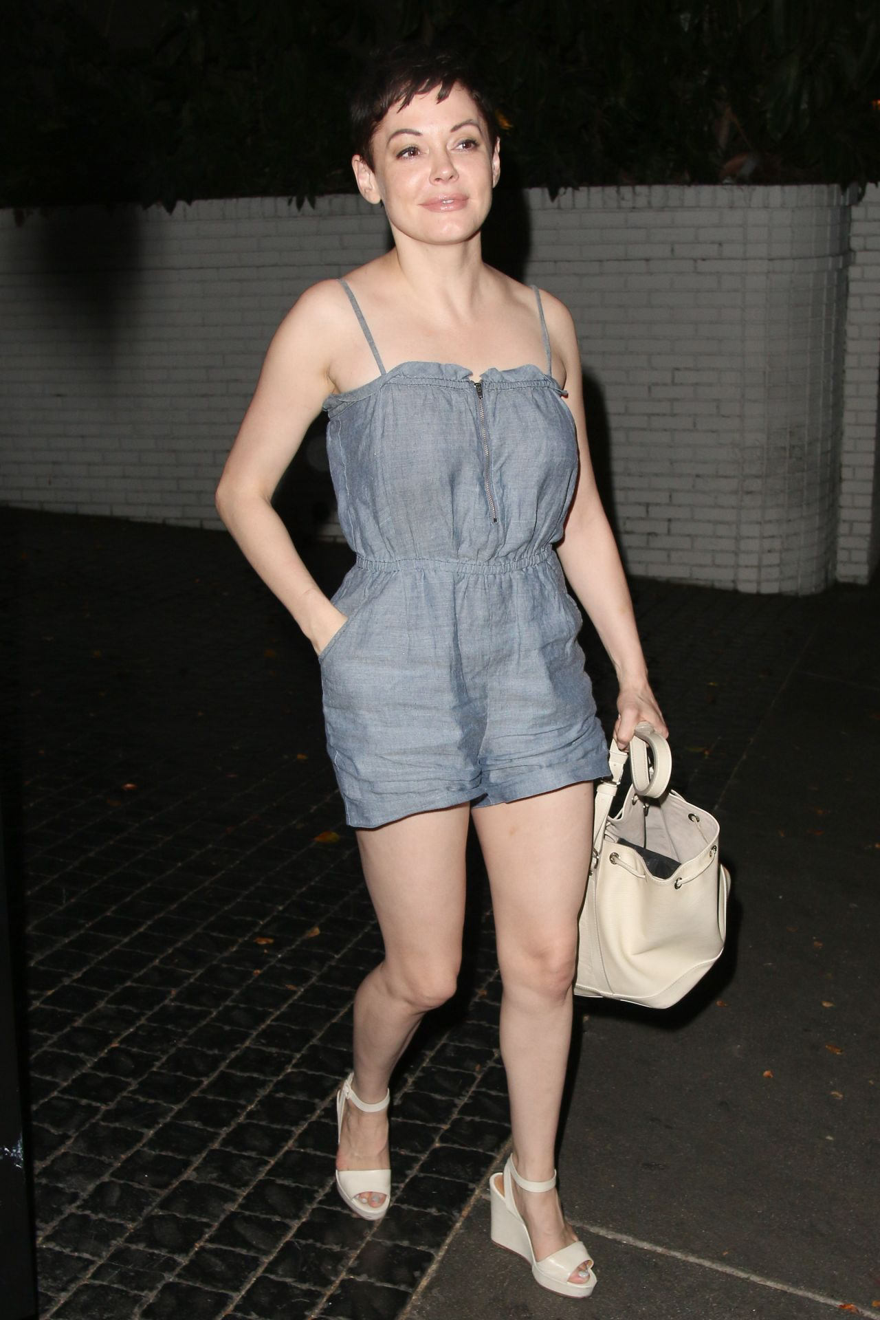 Rose Mcgowan Style Out In Los Angeles August 2014