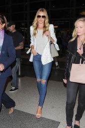 Rosie Huntington-Whiteley Arriving at LAX Airport - August 2014