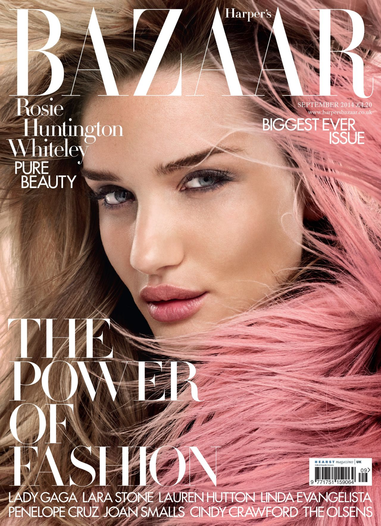 Fashion Magazines Look To Familiar Faces For Cover Models: Harper's Bazaar Magazine (UK