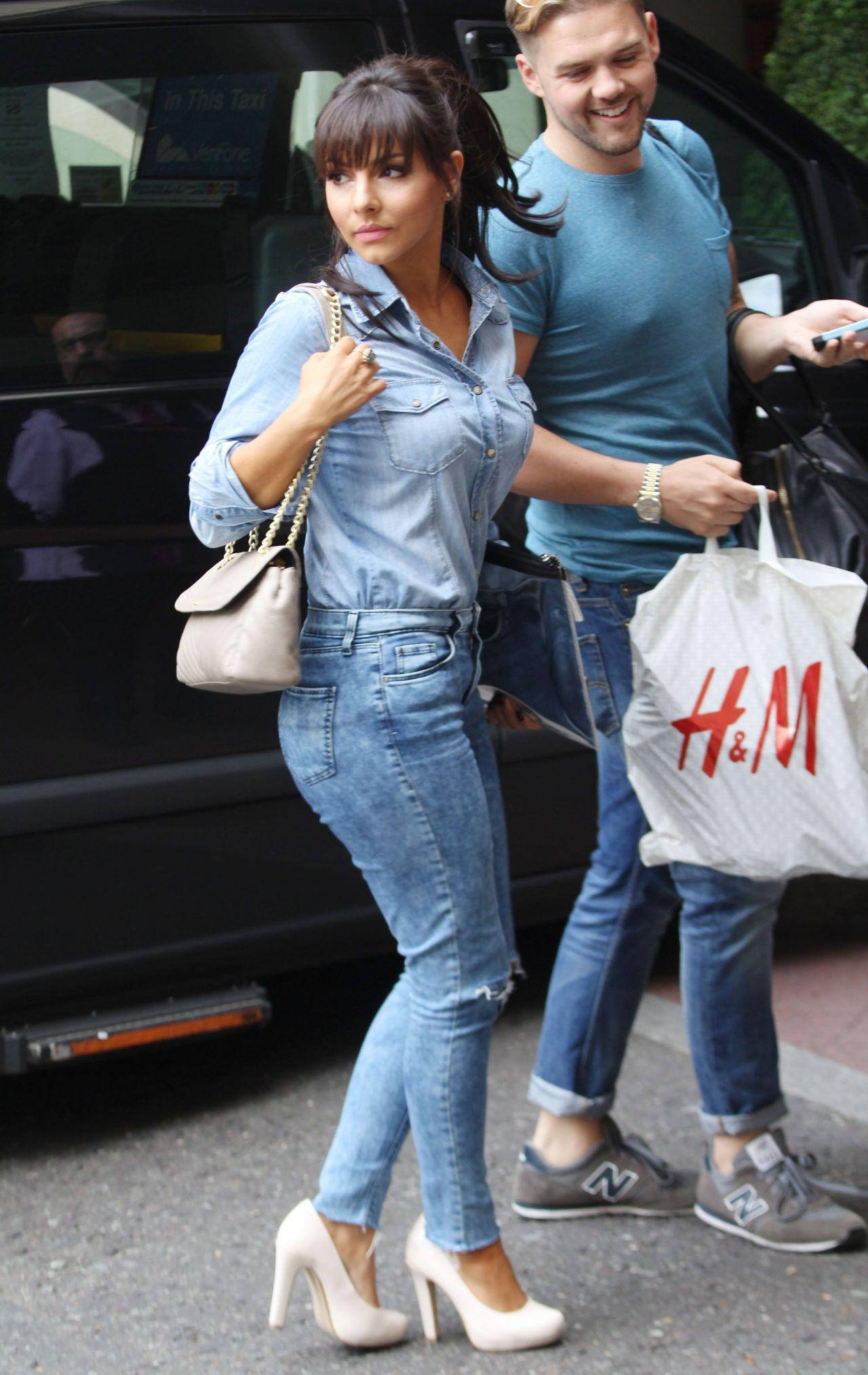 Roxanne Pallett - Leaving Soho Hotel in London - August 2014