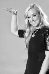 Sabine Lisicki Hot in Black Dress - Photoshoot