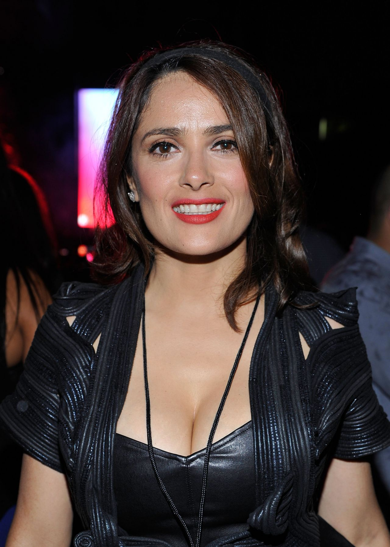 Salma Hayek Night Out Style - D