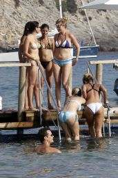 Sam Faiers & Ferne McCann Bikini Fun in Ibiza - August 2014