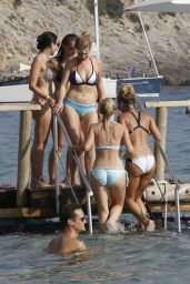 Sam Faiers & Ferne McCann Bikini Fun in Ibiza - August 2014