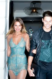 Sam Faiers Night Out Style - Out at Scott